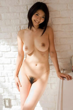 Wet Busty Japanese girl with big and..