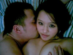 Cute Asian girls and their boyfriends